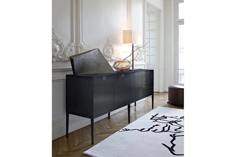 alcor sideboard by antonio citterio for maxalto space. Black Bedroom Furniture Sets. Home Design Ideas