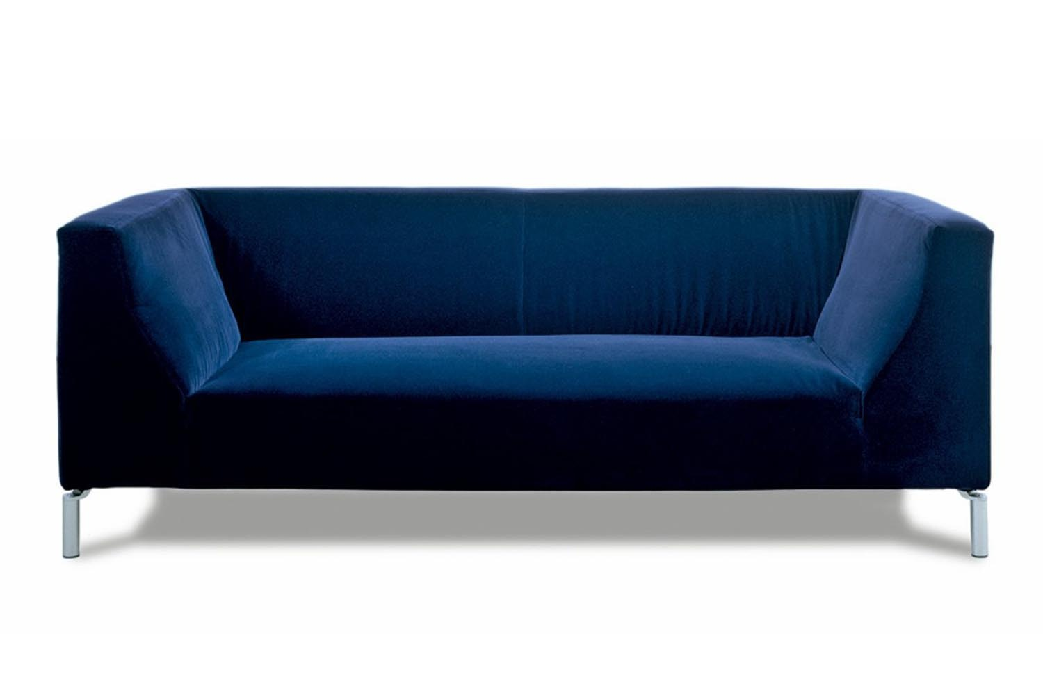 Silver Sofa by Leonardo Volpi for Edra