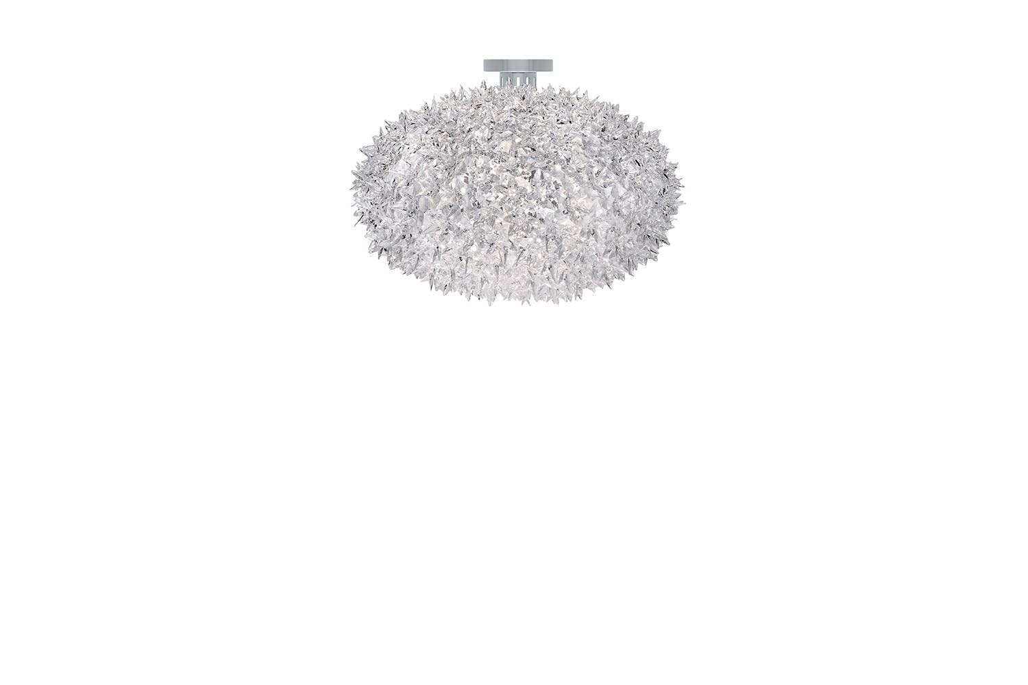 bloom new large ceiling lamp by ferruccio laviani for kartell space furniture black white bloom ferruccio laviani