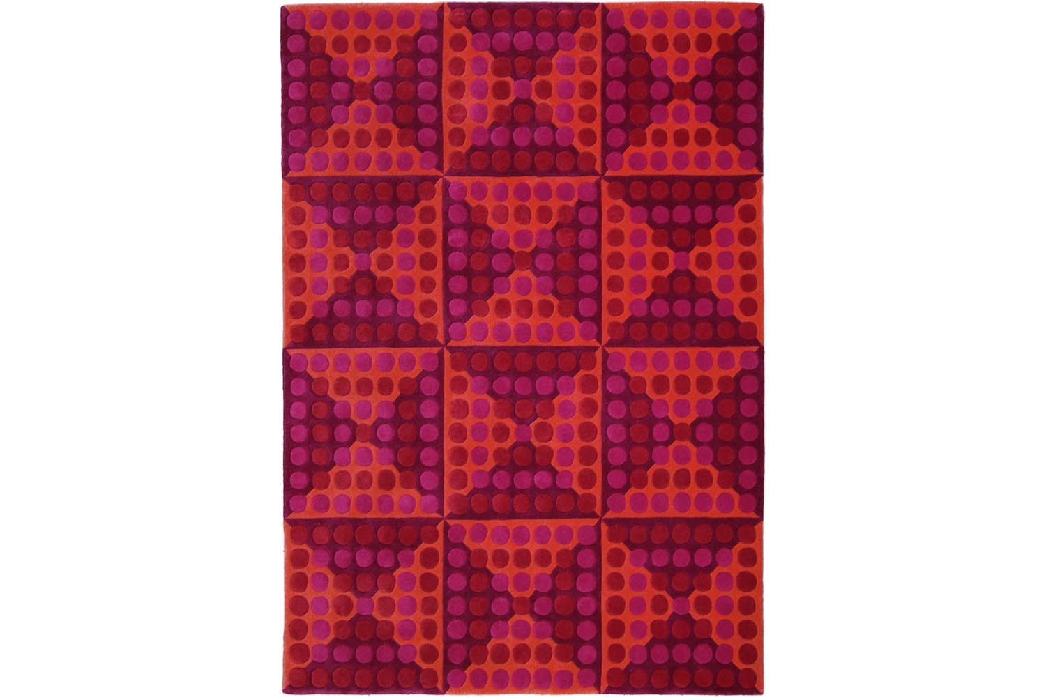 Spiegel Rug by Verner Panton for Verpan