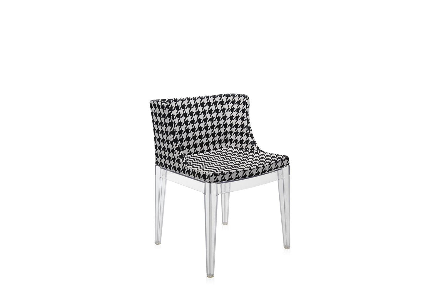 mademoiselle starck fabric chair by philippe starck for kartell