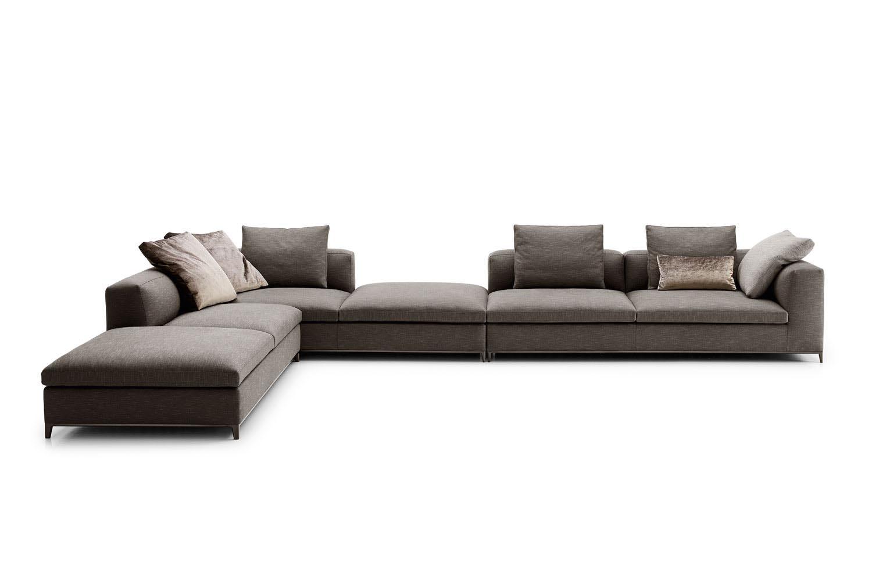 Michel Club Sofa by Antonio Citterio for B&B Italia