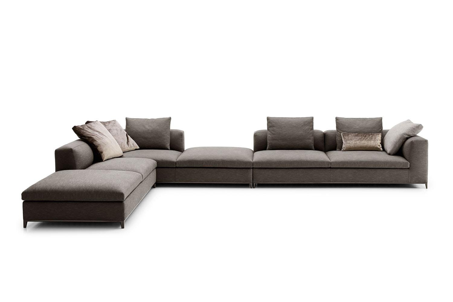 michel club sofa by antonio citterio for b b italia space furniture. Black Bedroom Furniture Sets. Home Design Ideas