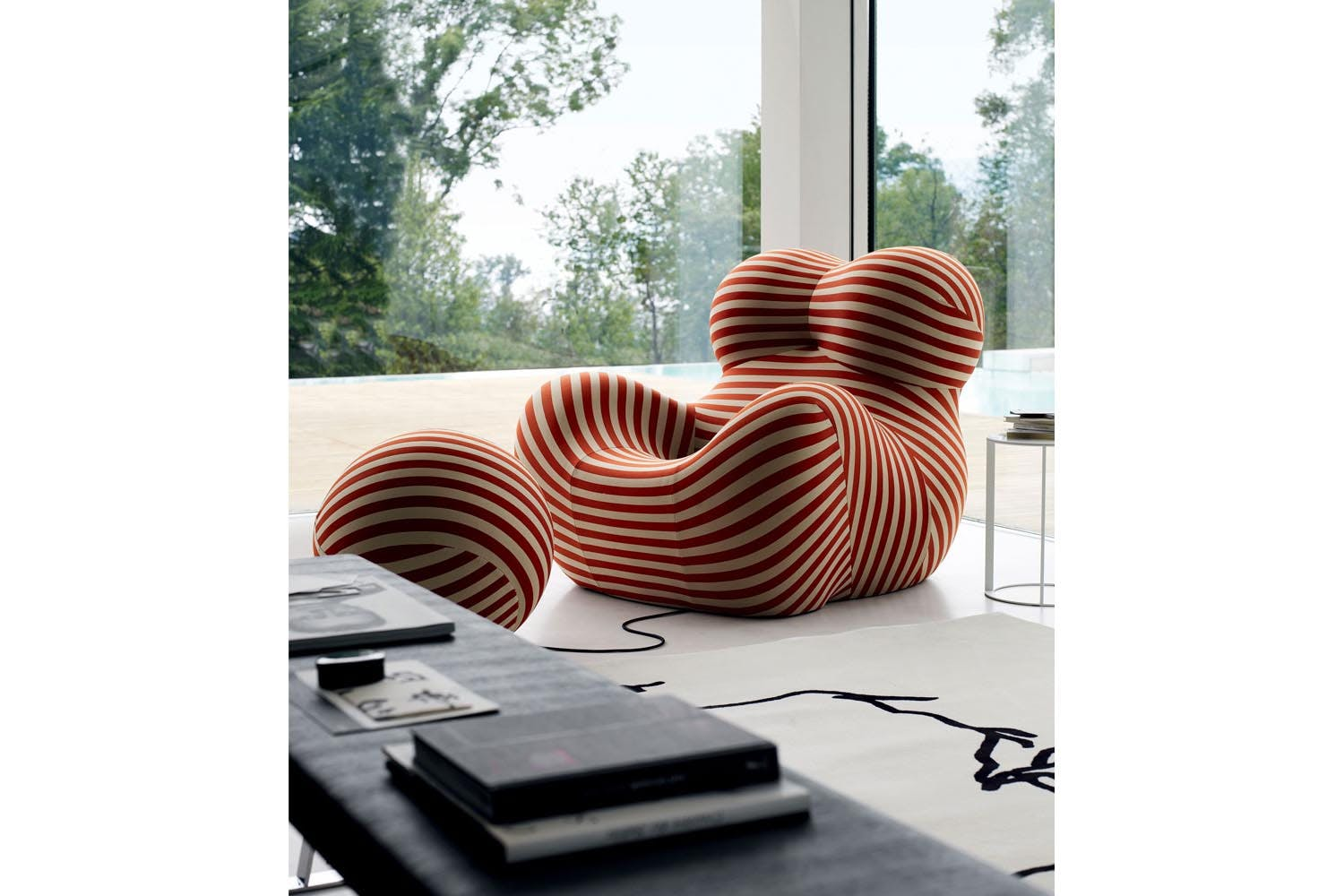 up series 2000 up5 6 armchair ottoman by gaetano pesce for b b italia space furniture. Black Bedroom Furniture Sets. Home Design Ideas