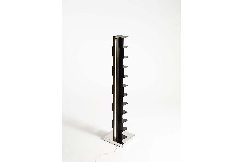 Ptolomeo Luce Mid Bookcase by Bruno Rainaldi for Opinion Ciatti
