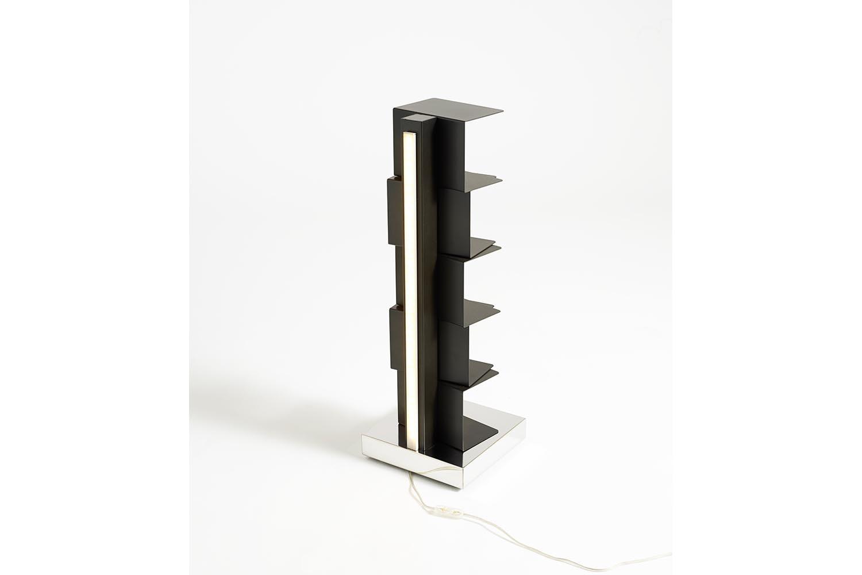Ptolomeo Luce Low Bookcase by Bruno Rainaldi for Opinion Ciatti