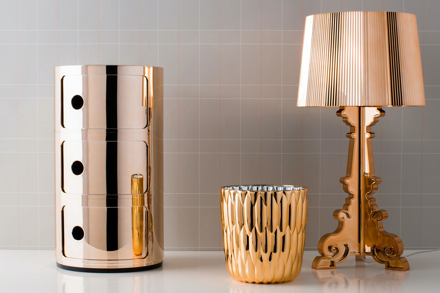 Complete Accessories Copper by Kartell