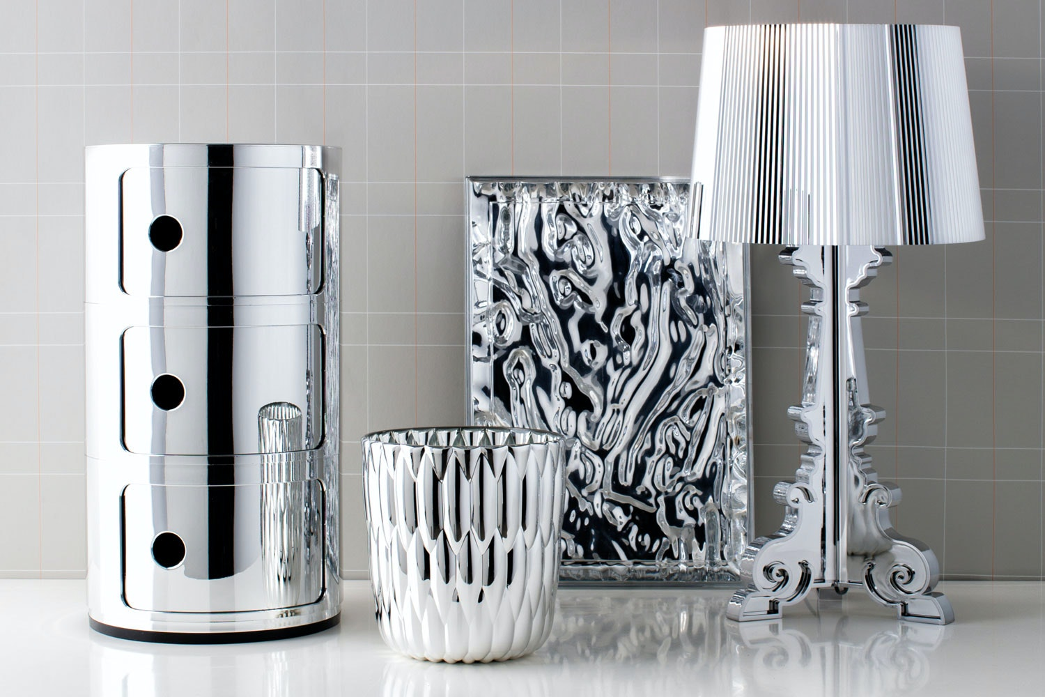 Complete Accessories Chrome by Kartell