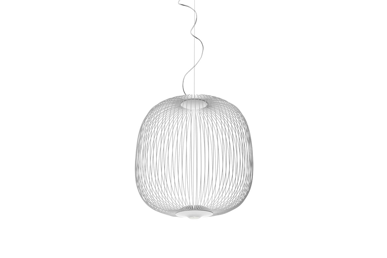 Spokes 2 Suspension Lamp by Garcia Cumini for Foscarini