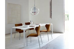 Papilio Chair in Leather by Naoto Fukasawa for B&B Italia