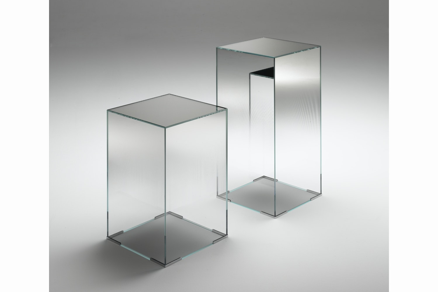 Illusion Side Table by Jean-Marie Massaud for Glas Italia