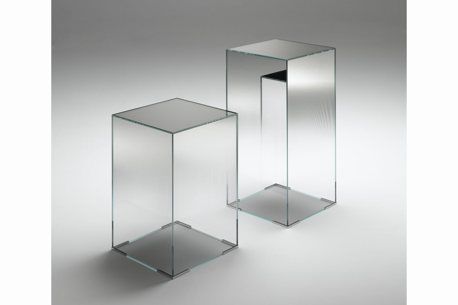 Illusion Side Table By Jean Marie Massaud For Glas Italia