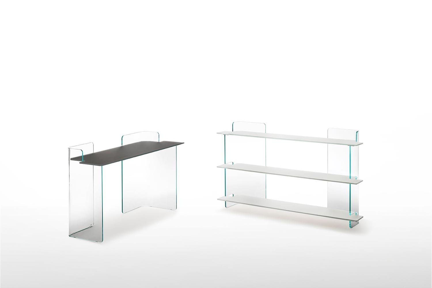 Highline Console by Patrick Norguet for Glas Italia