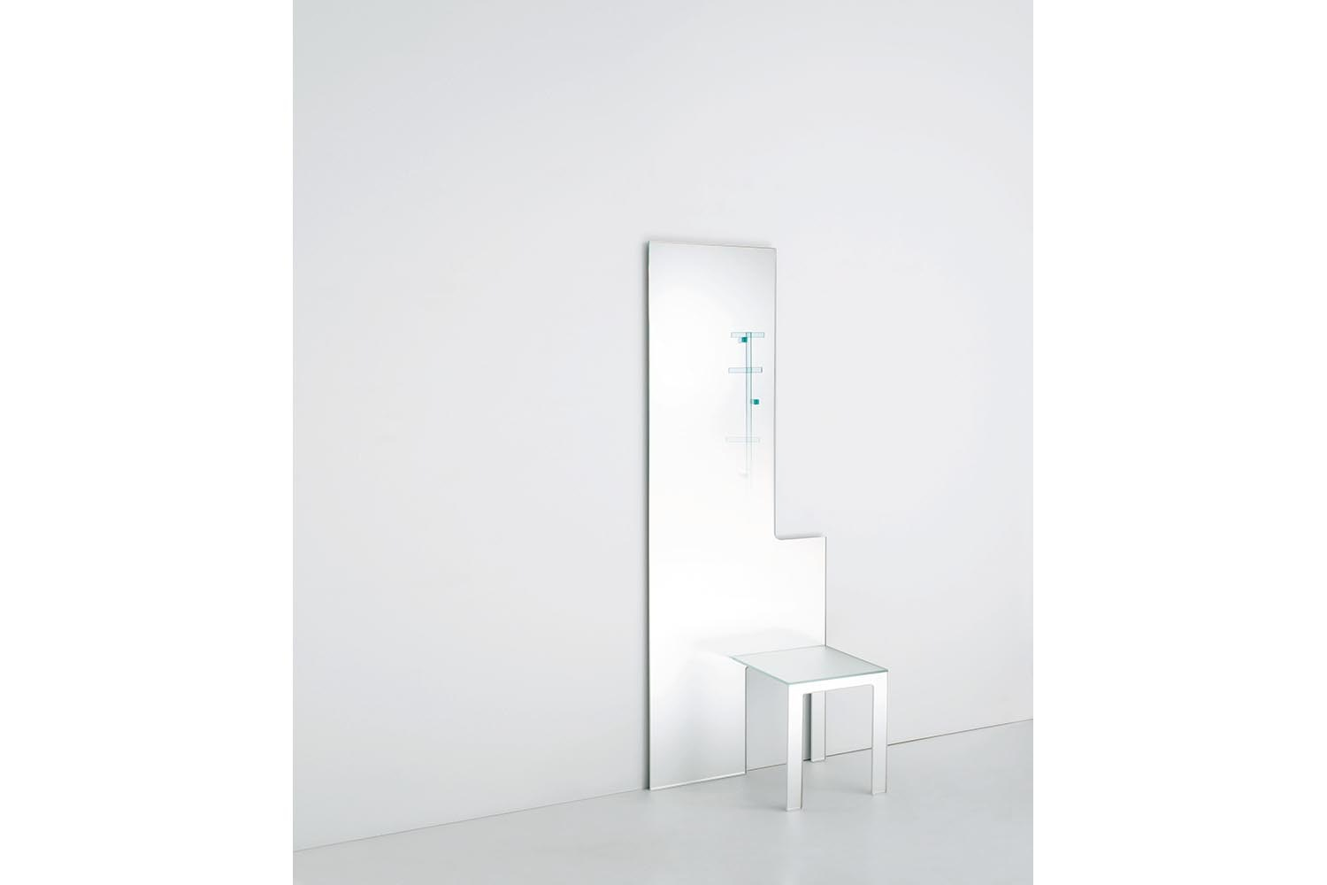 Mirror Chair - Mirror Stool by Nendo for Glas Italia