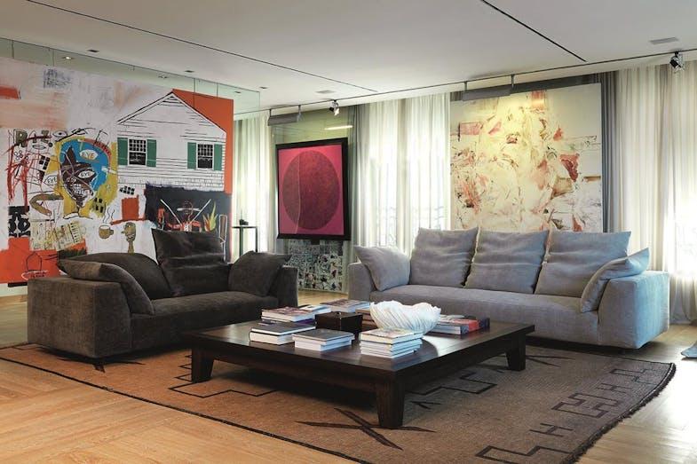 absolu sofa by francesco binfare for edra space furniture. Black Bedroom Furniture Sets. Home Design Ideas