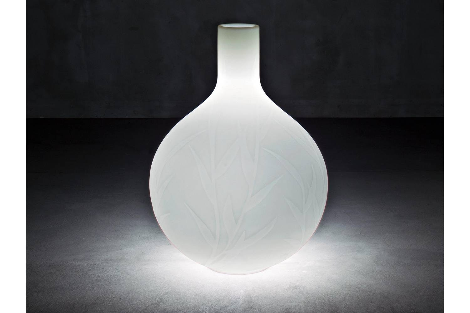 Princess Pot with Light by Christophe Pillet for Serralunga