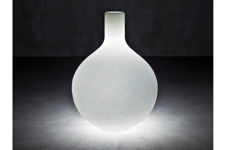 Princess Pot with Light by Christophe Pillet for Serralunga
