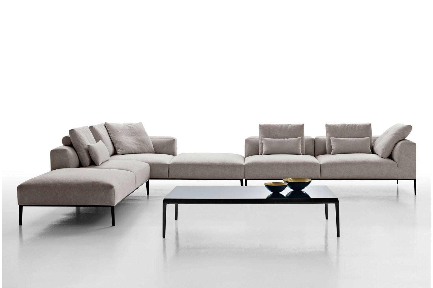 Michel effe sofa by antonio citterio for b b italia for B and b divani