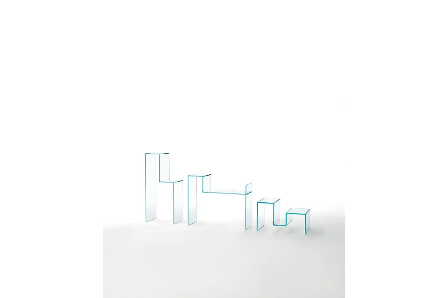 Torri Console by Piero Lissoni for Glas Italia