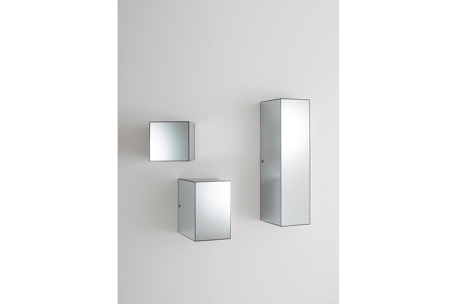 Heigh-Ho Mirror Storage Wall Unit by Piero Lissoni for Glas Italia