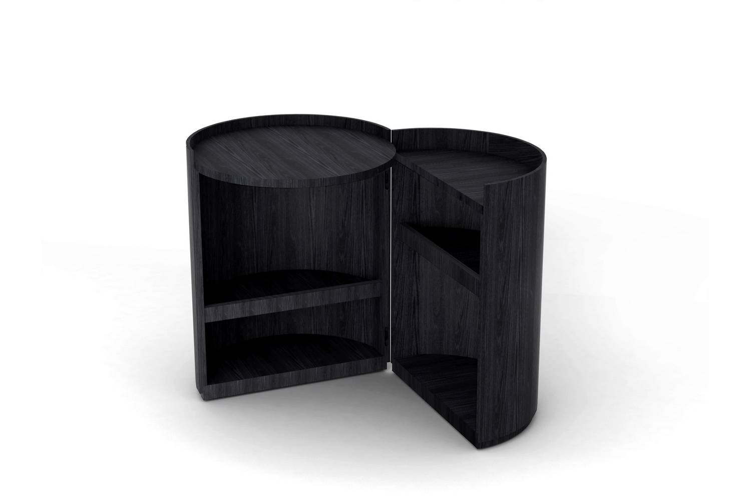 Moon Bedside Table by Mist-o for Living Divani