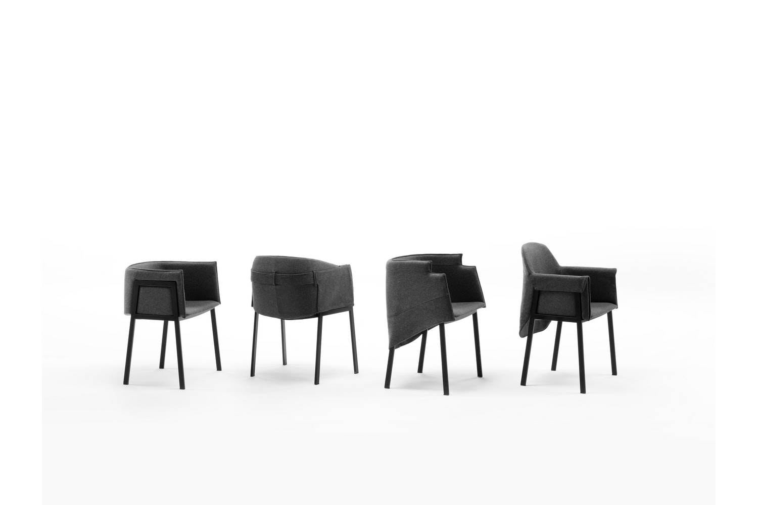 Grace Chair by Giopato & Coombes for Living Divani