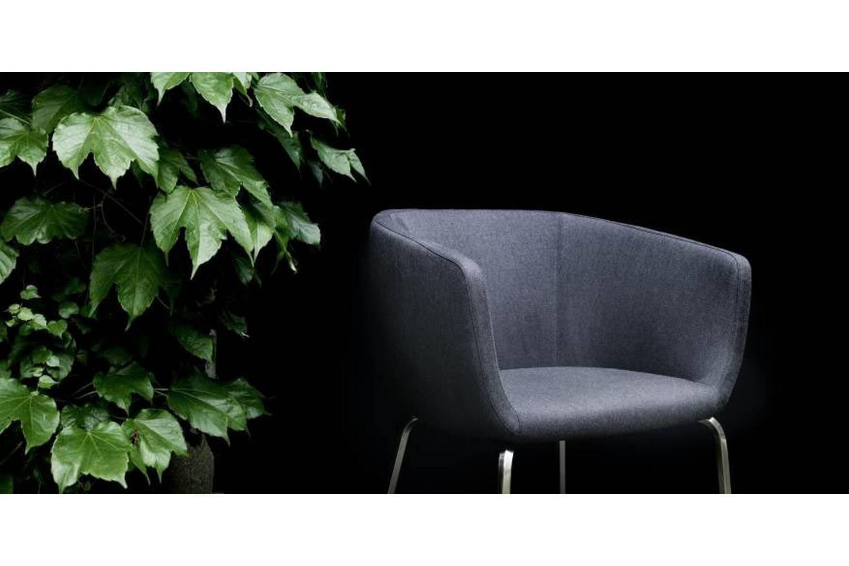 Nut Armchair by Piero Lissoni for Living Divani