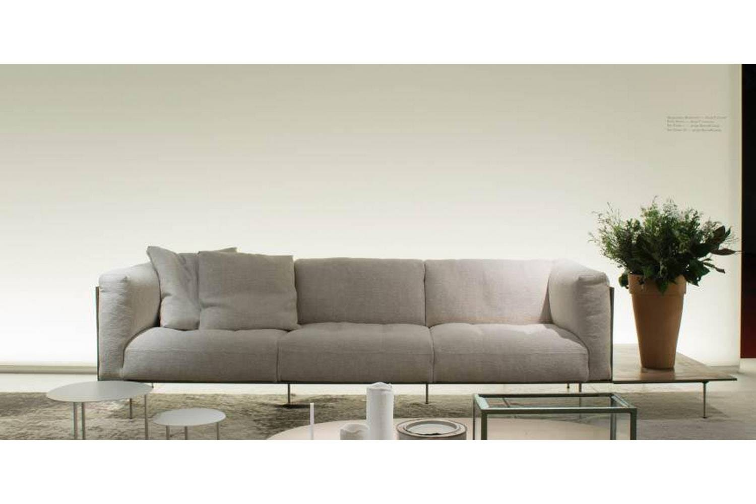 Rodwood Sofa by Piero Lissoni for Living Divani  Space ...