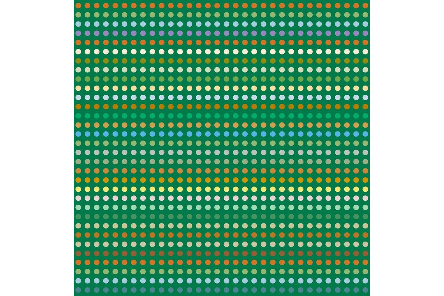 Dotted Green Carpet by Moooi Works for Moooi Carpets