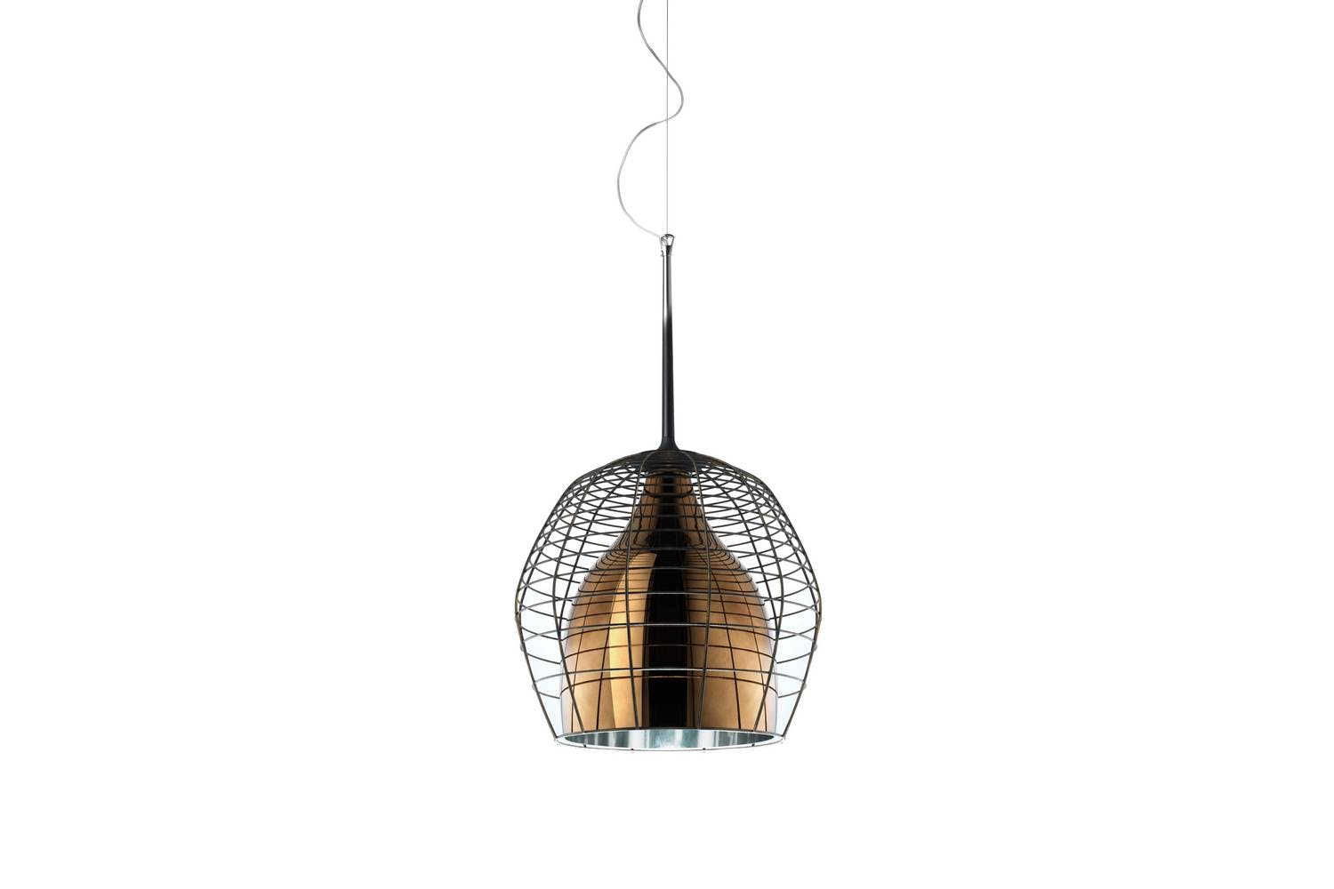 cage suspension lamp by successful living from diesel for. Black Bedroom Furniture Sets. Home Design Ideas
