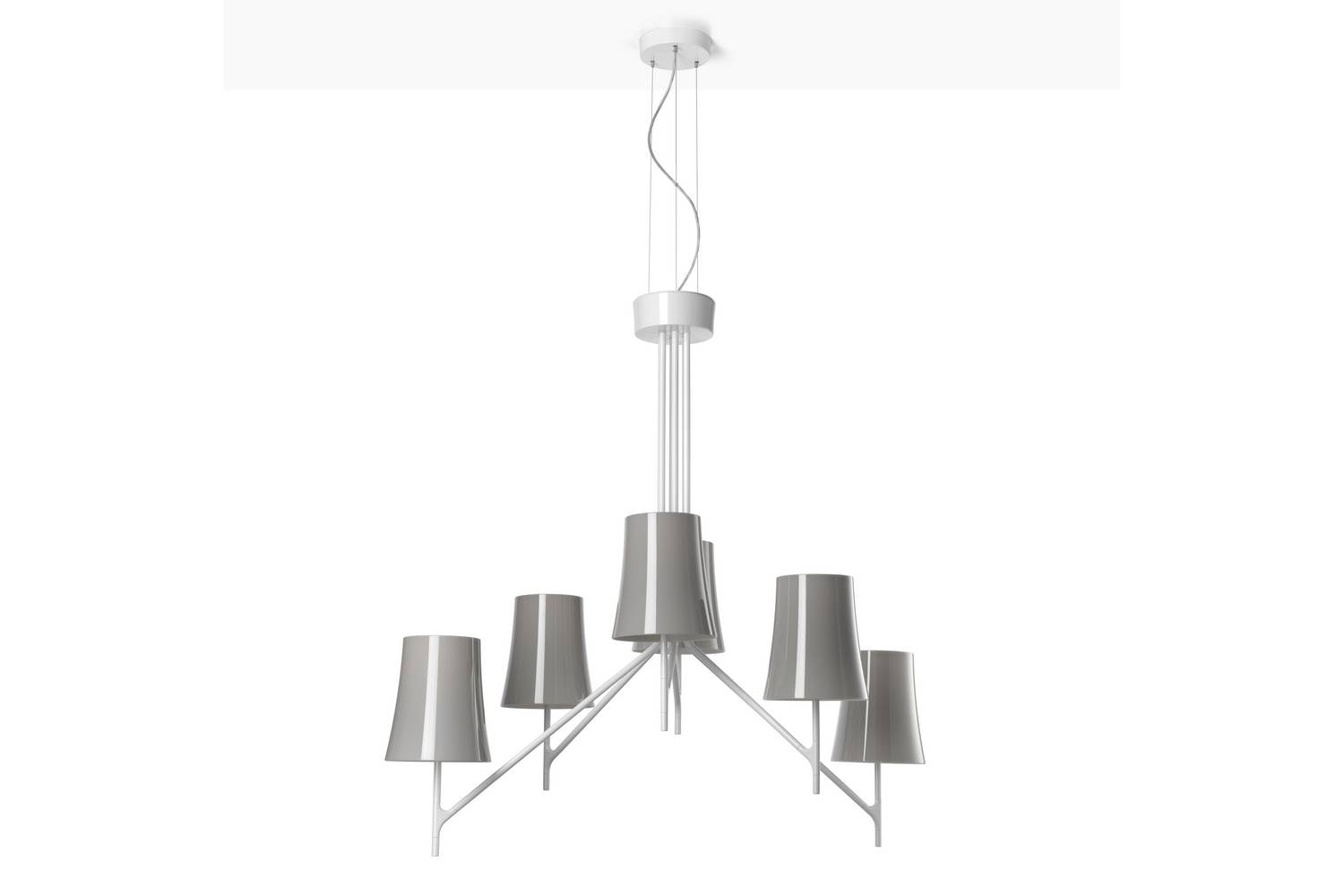 Birdie 6 Suspension Lamp by Ludovica & Roberto Palomba for Foscarini
