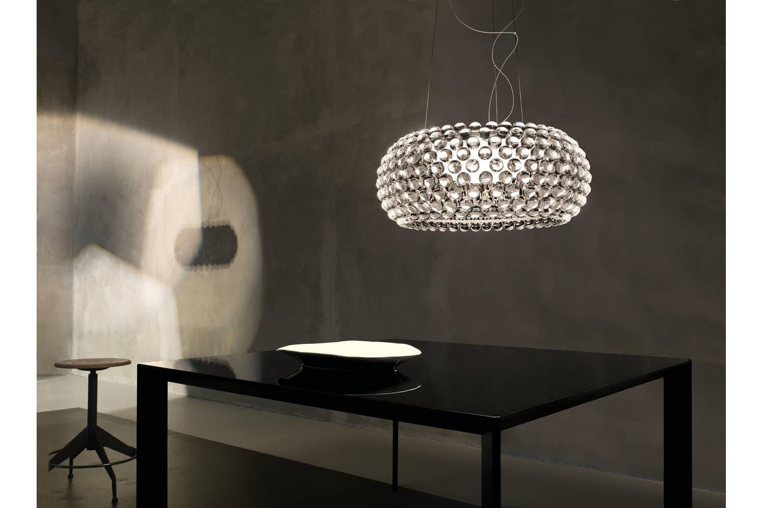 caboche grande suspension lamp by patricia urquiola eliana gerotto for foscarini space furniture. Black Bedroom Furniture Sets. Home Design Ideas