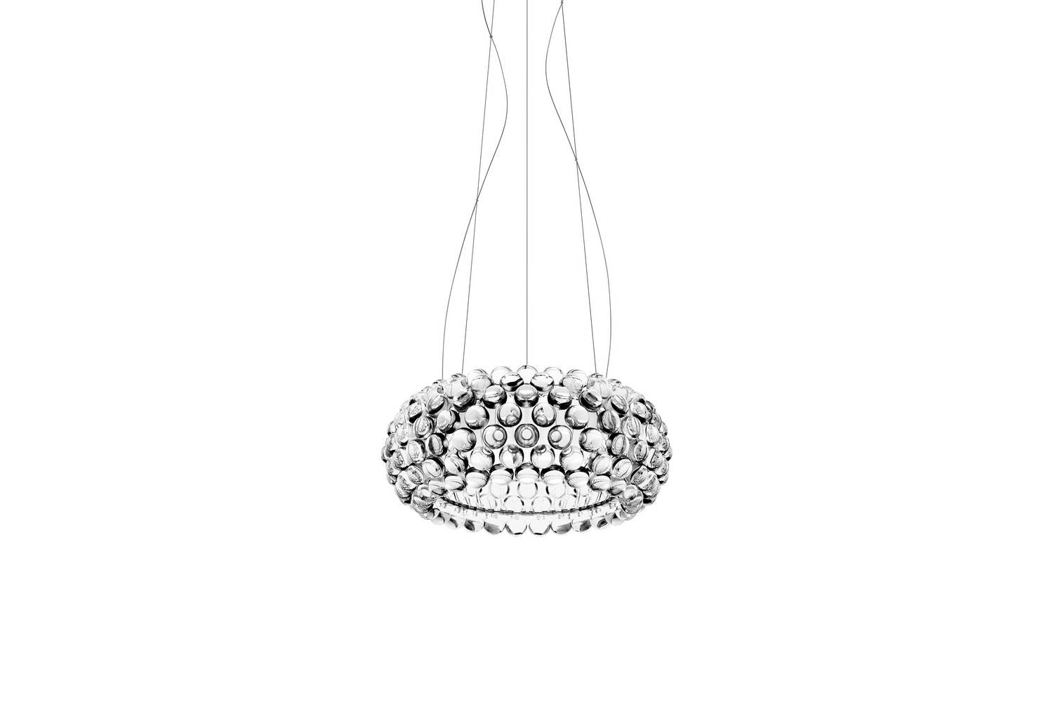 Caboche Media LED Dimmable Suspension Lamp by Patricia Urquiola & Eliana Gerotto for Foscarini