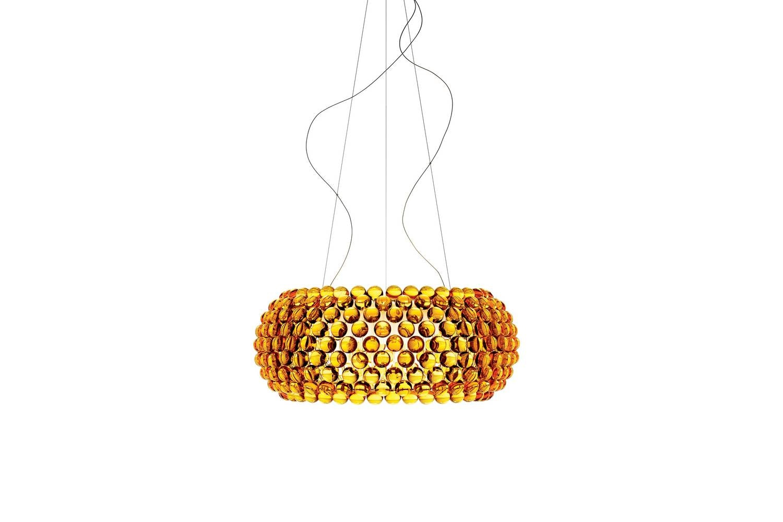 Caboche Grande Suspension Lamp Transparent by Patricia Urquiola & Eliana Gerotto for Foscarini