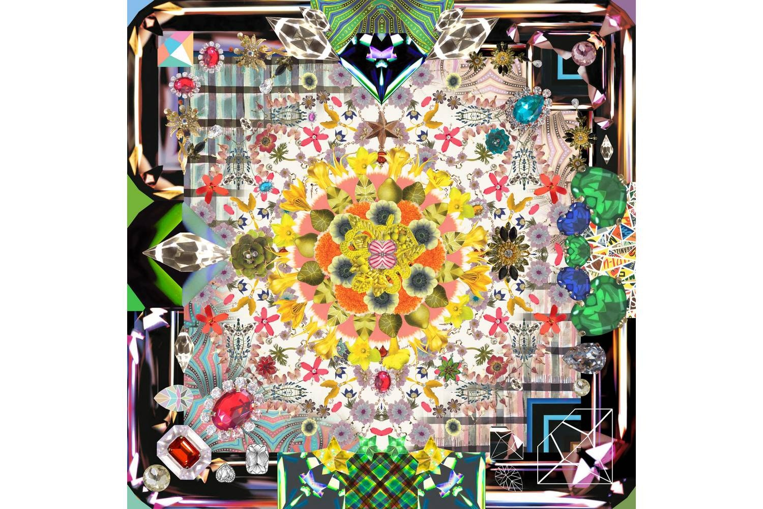 Jewels Garden Rug by Maison Christian Lacroix for Moooi Carpets
