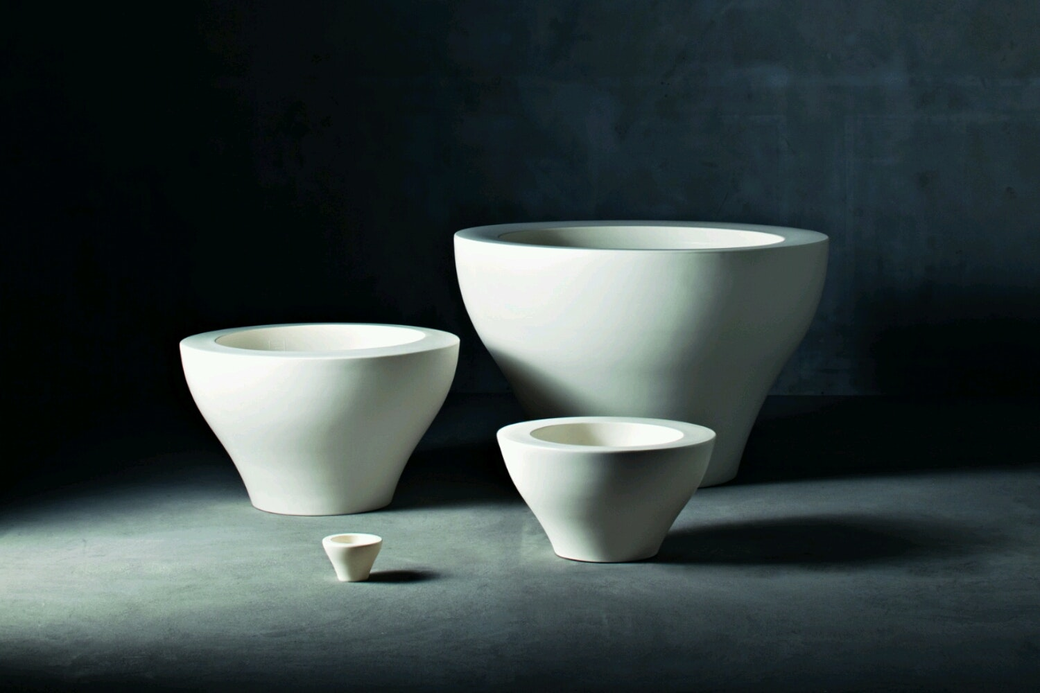 Ming Small Pot by Rodolfo Dordoni for Serralunga