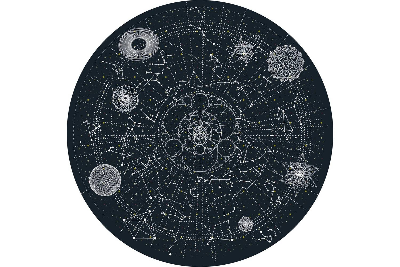 Celestial Rug by Edward van Vliet for Moooi Carpets