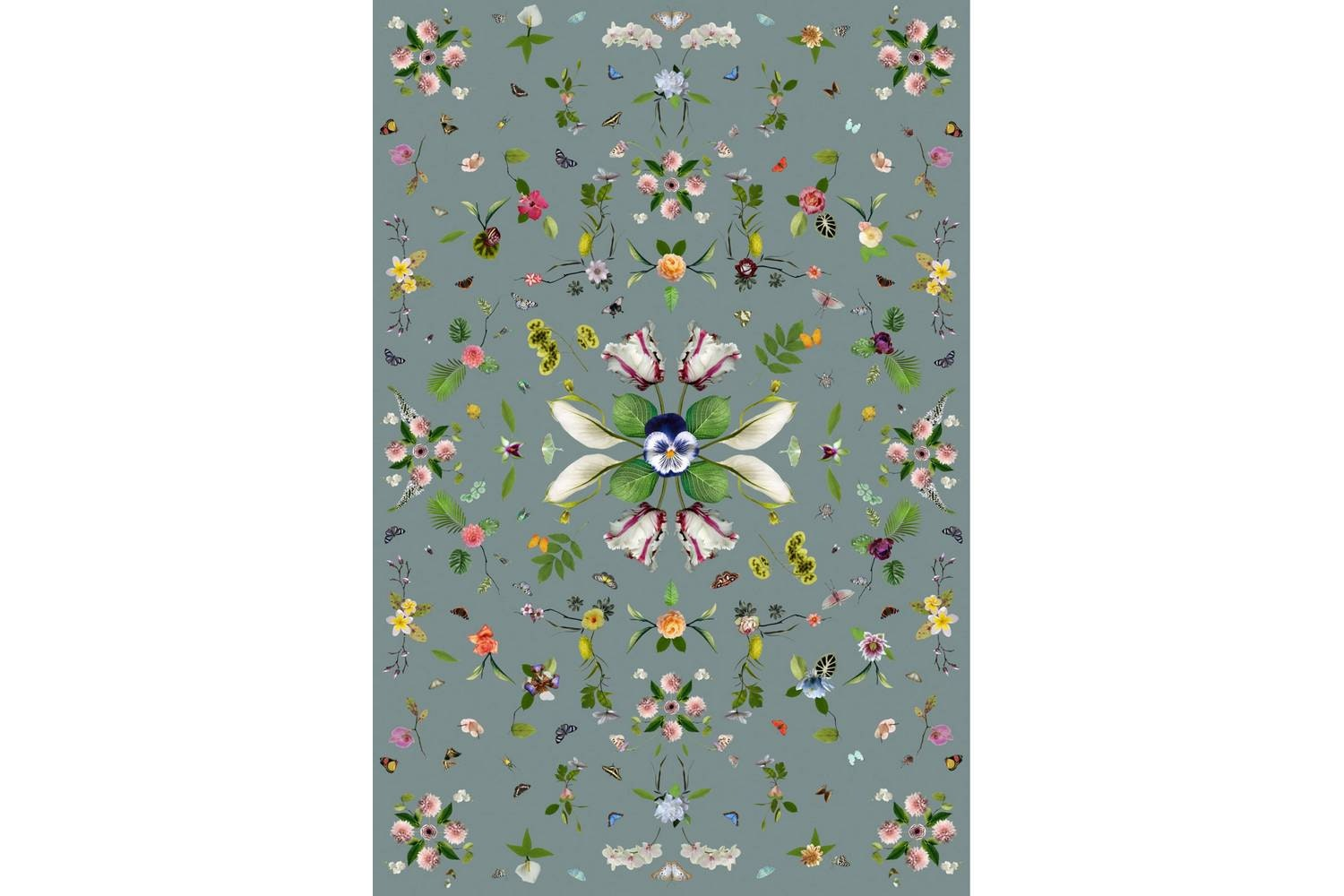 Garden of Eden Grey Rug by Edward van Vliet for Moooi Carpets