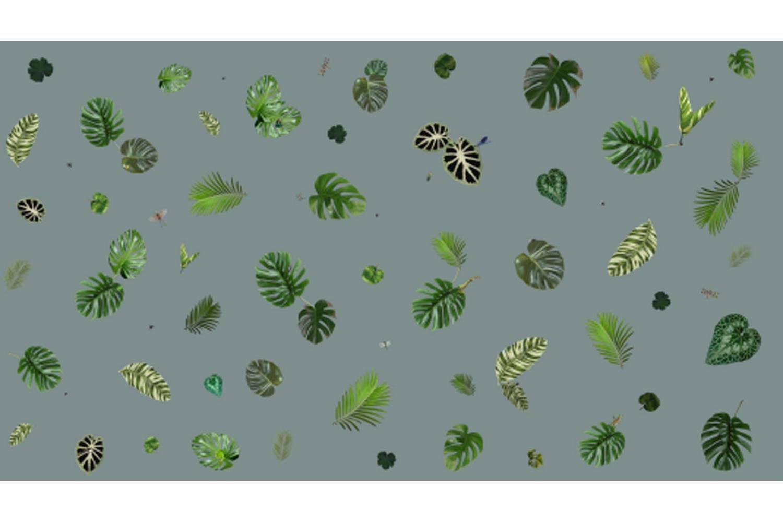 Tropical Leaf Broadloom Carpet by Edward van Vliet for Moooi Carpets
