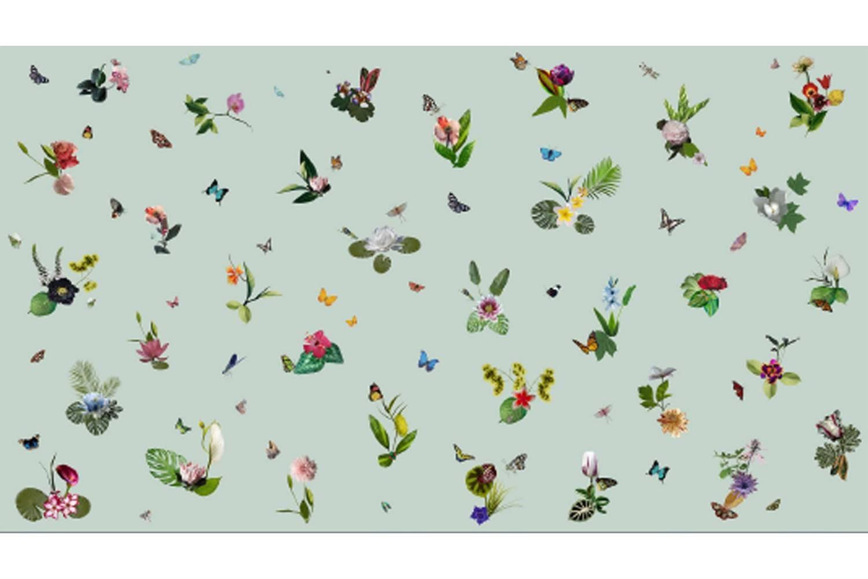 Ikebana Broadloom Carpet by Edward van Vliet for Moooi Carpets
