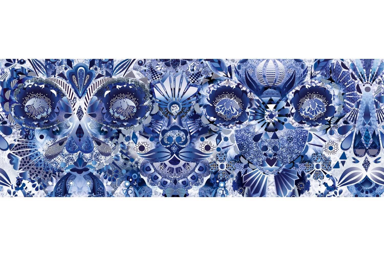 Delft Blue Broadloom Carpet by Marcel Wanders for Moooi Carpets
