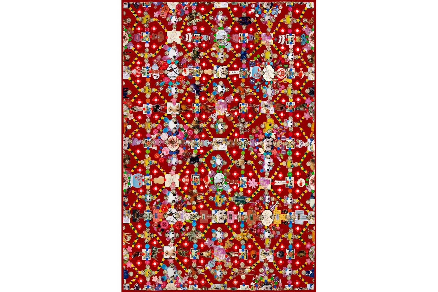 Obsession Red Rug by Marian Bantjes for Moooi Carpets