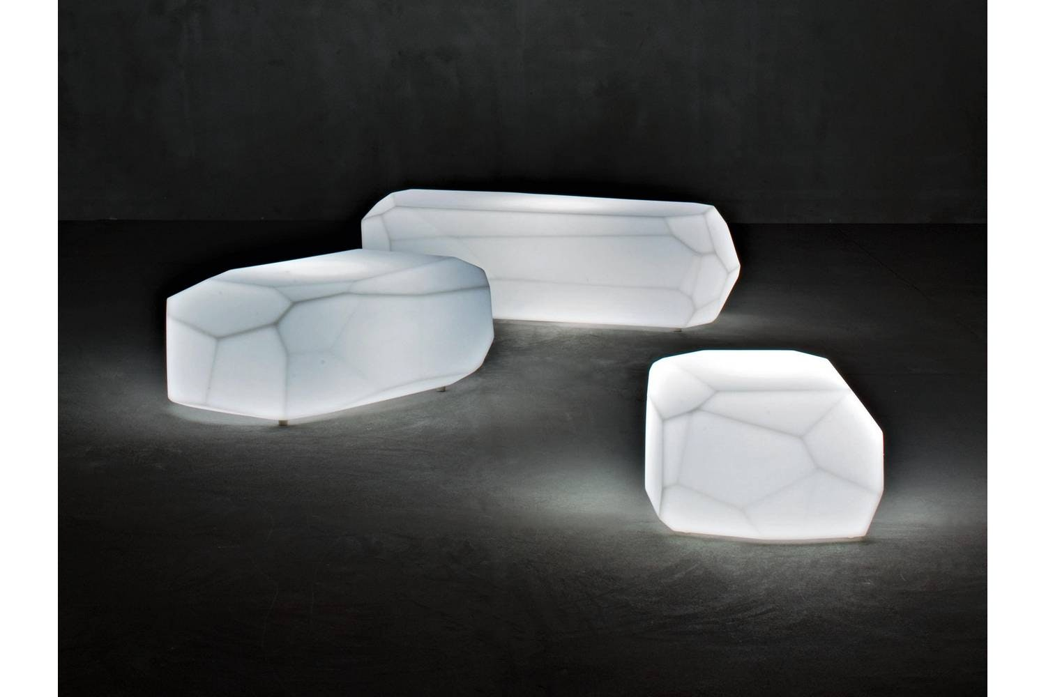 Meteor Medium Coffee Table by Arik Levy for Serralunga