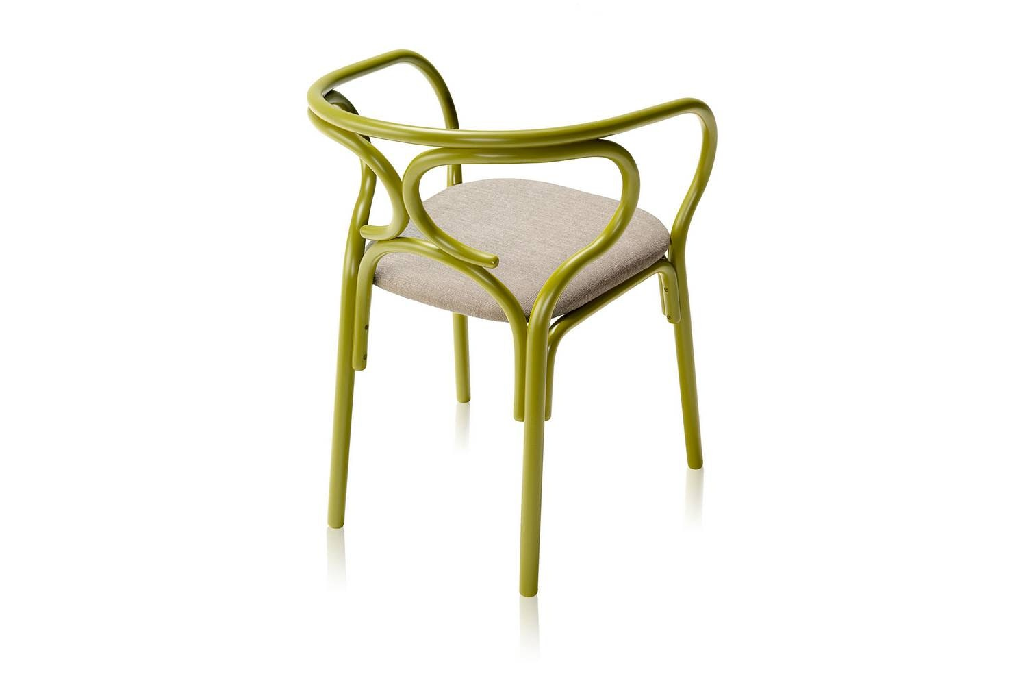 Brezel Chair by Lucidi & Pevere for Wiener GTV Design