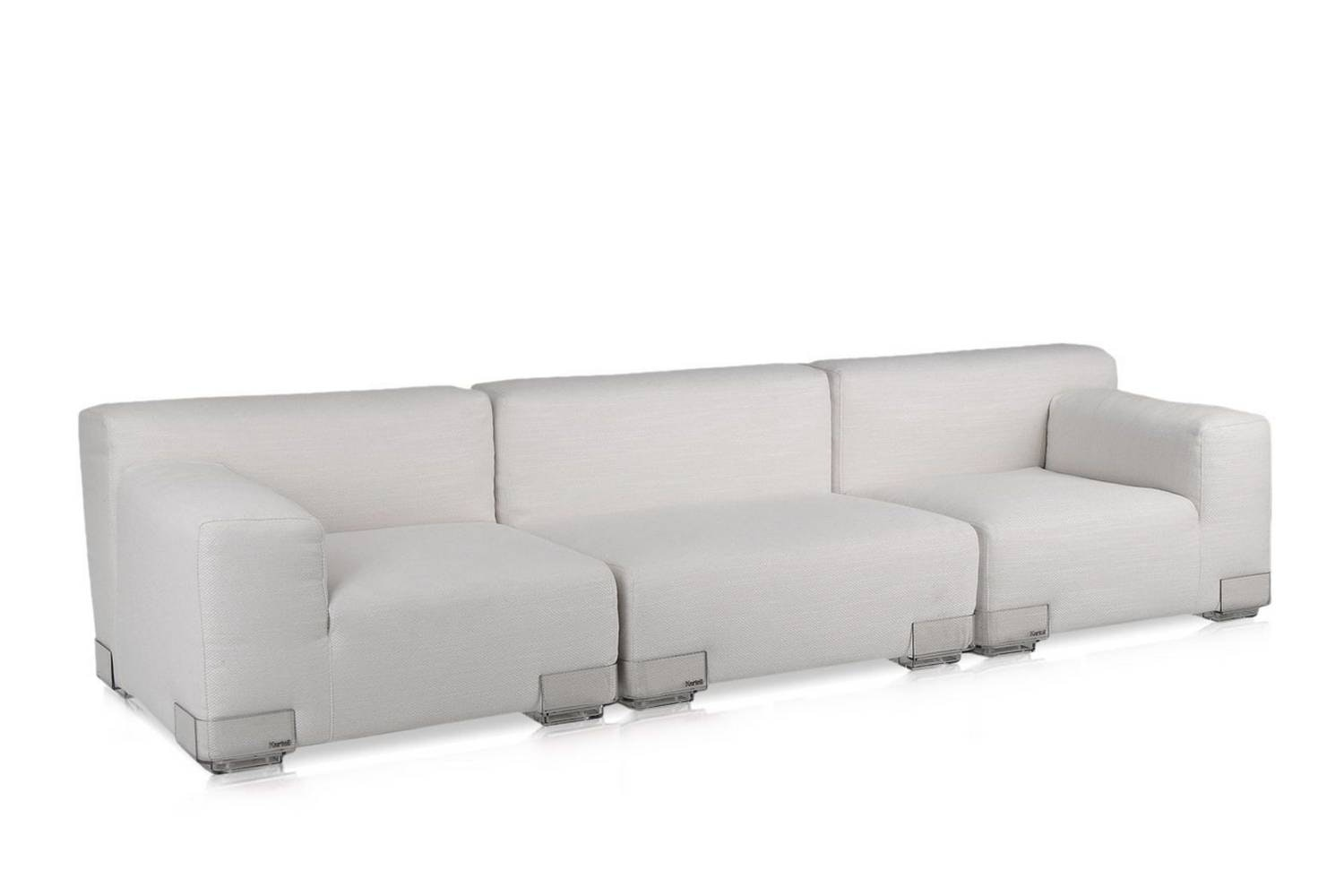 Plastics Duo 3 Seat Sofa by Piero Lissoni for Kartell
