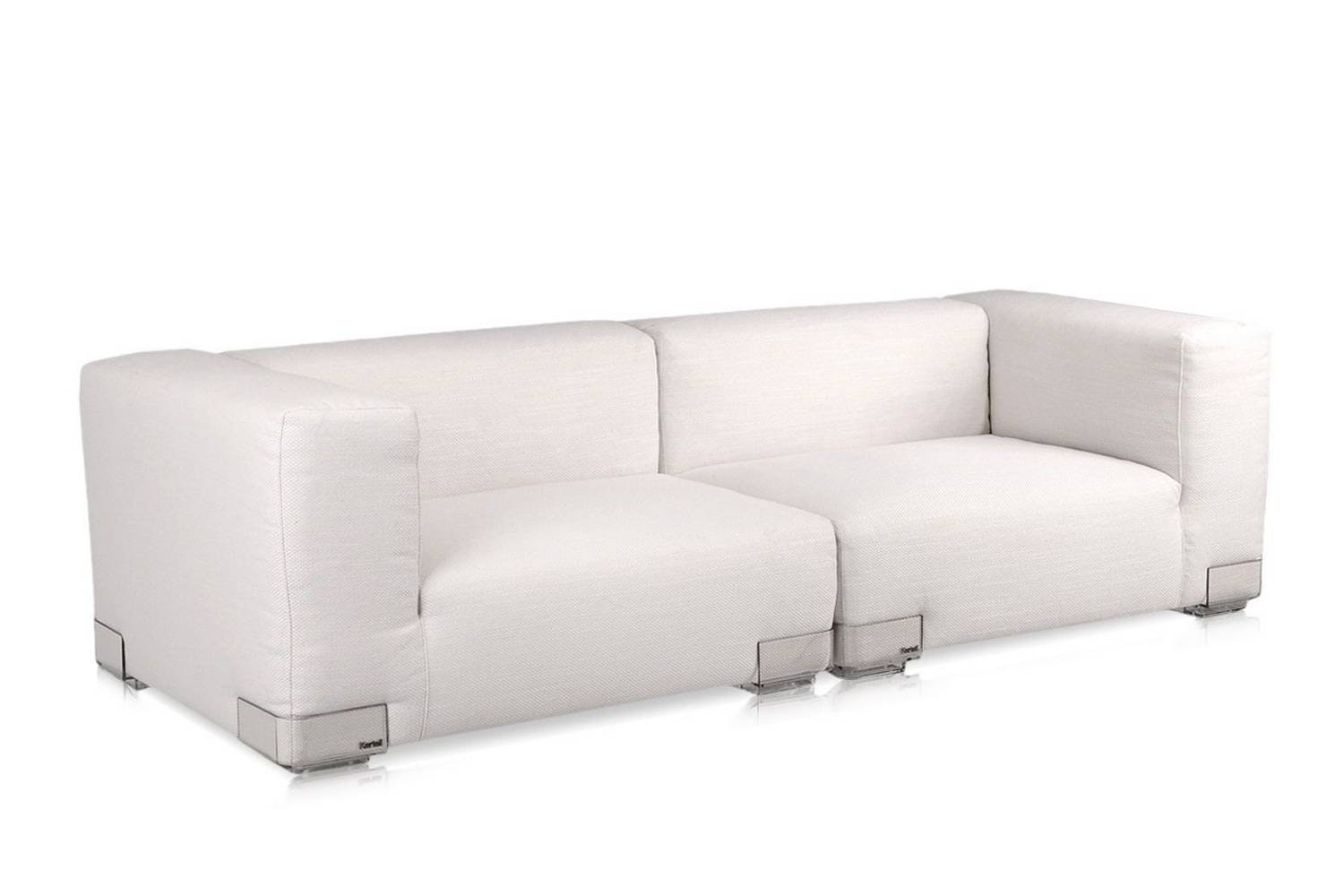 Plastics Duo 2 Seat High Arm Sofa