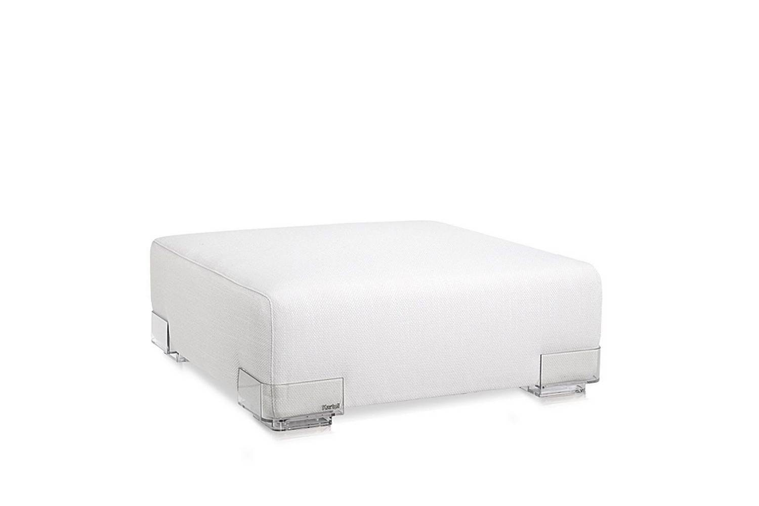 Plastics Duo Ottoman by Piero Lissoni for Kartell