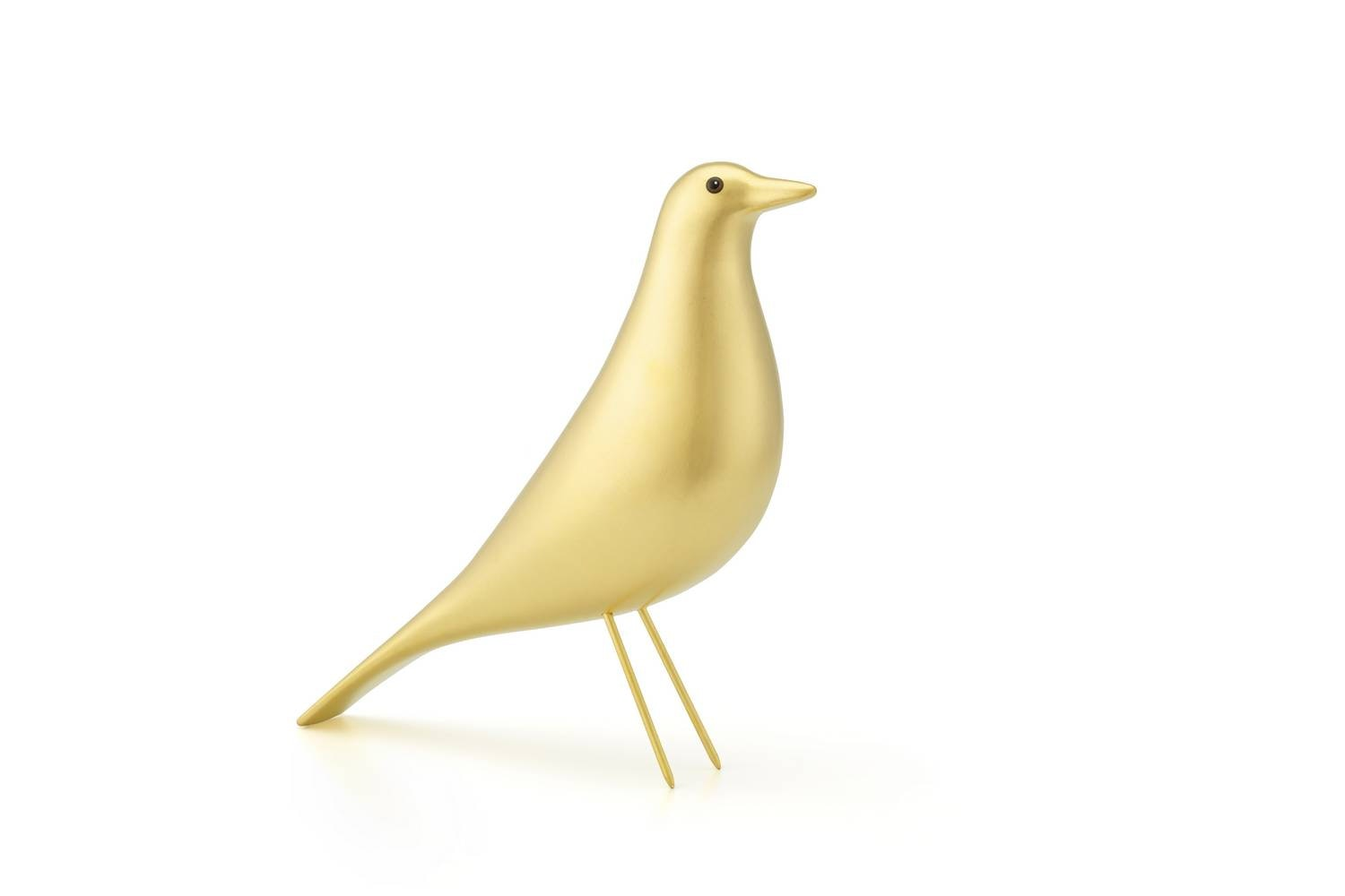 Eames House Bird Gold by Charles & Ray Eames for Vitra