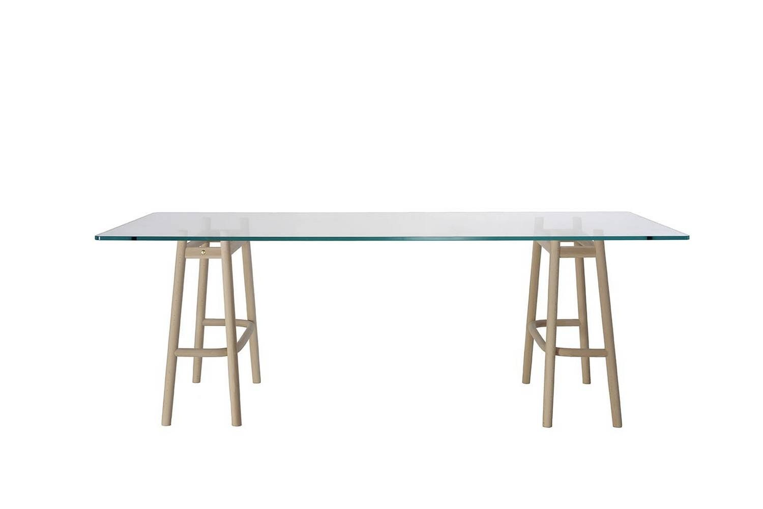 Single Curve Dining Table by Nendo for Wiener GTV Design