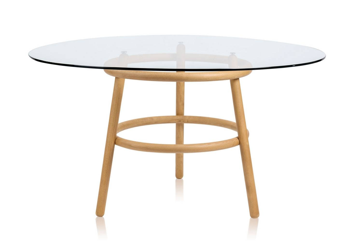 Magistretti 03 02 Table by Vico Magistretti for Wiener GTV Design
